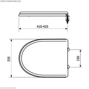 Deski sedesowe DS4