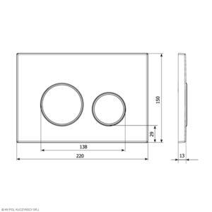 Płytka przycisków M11