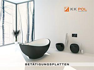KK-POL Batatigungsplatten